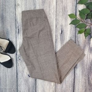 Brunello Cucinelli Wool Blend Tapered Ankle Pants